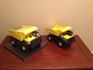 Tonka Dump Truck - Cake by Woodcakes