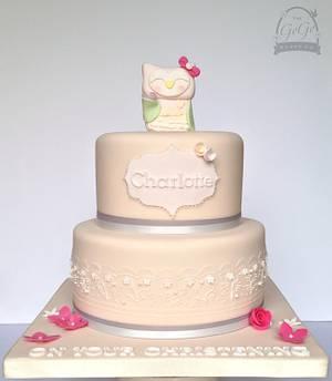 Christening cake - Cake by Natasha Thomas