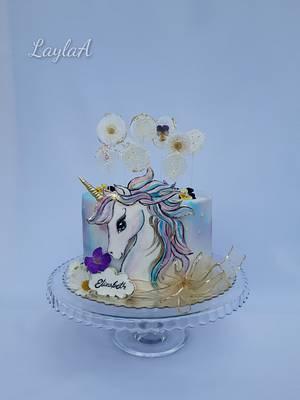Unicorn  - Cake by Layla A