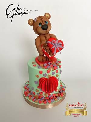 Valentine cake - Cake by Cake Garden