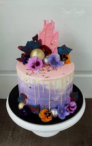 Violet cake - Cake by Dmytrii Puga