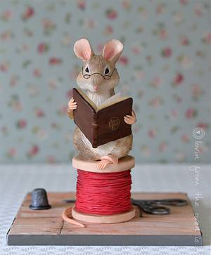 Pottering Around Mouse. - Cake by Lovin' From The Oven