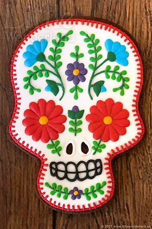 Mexican skull - Cake by Rocío Cuenca