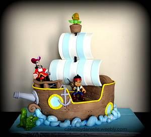 Jake and the Neverland Pirates - Cake by CBD