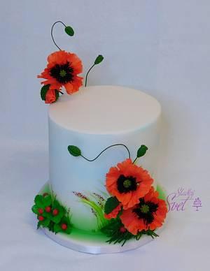 Poppy - Cake by Sladky svet