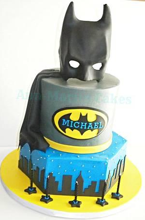 Batman - Cake by Ann-Marie Youngblood