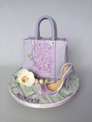 Handbag cake - Cake by Layla A
