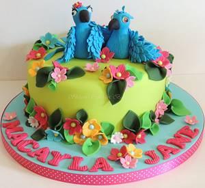 Rio - Cake by Shereen