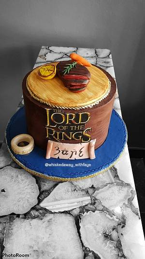 Lord of the Rings themed cake - Cake by FayePramraj