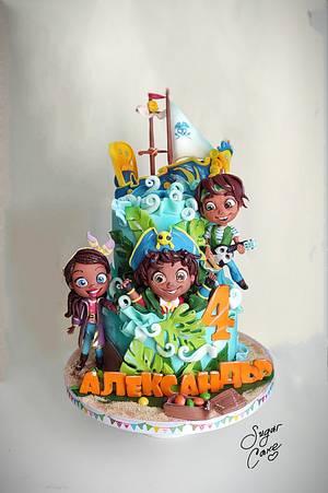 Santiago sea Cake - Cake by Tanya Shengarova
