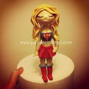 Super Girl - Cake by Pasticcino Mio