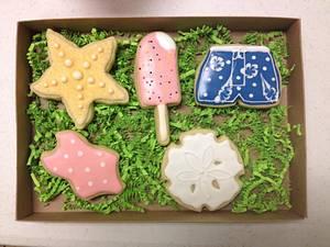 Beach cookies - Cake by Woodcakes