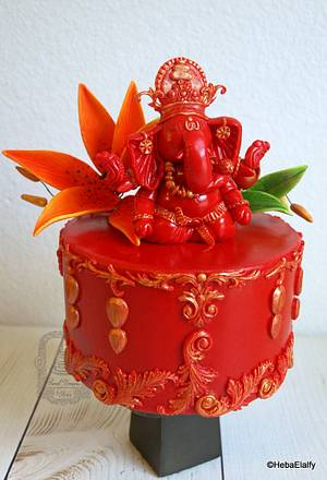 """""""Incredible India"""" collaboration - Cake by Sweet Dreams by Heba"""
