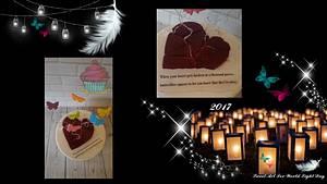 Sweet Art for World Light Day 2017 - Cake by Bakmuts en zo