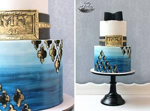 Men birthday cake - Cake by Lorna