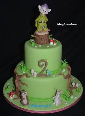 Dopey cake - Cake by Alessandra Rainone