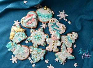 Christmas is coming - Cake by Tanya Shengarova