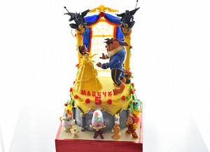 Beauty and the Beast cake - Cake by OxanaS