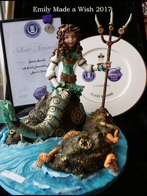 Steampunk Mermaid - Cake by Emilyrose