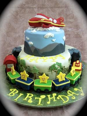 Transportation Cake - Cake by Theresa