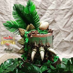 Dino's party  - Cake by L'atelier de Natasel
