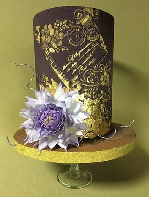 Letter to Mom - Cake by Oksana Kliuiko