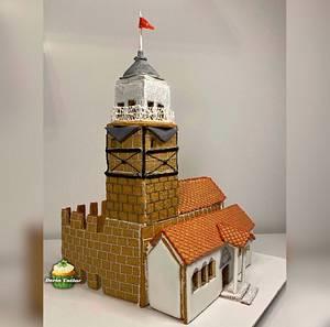 Maiden Tower - Cake by Derin Tatlar
