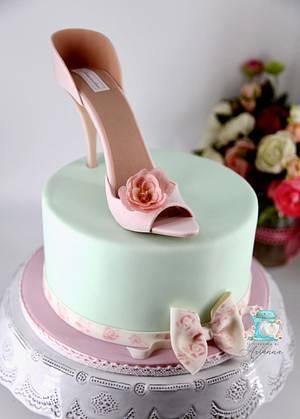 Stiletto  Cake  - Cake by Arianna