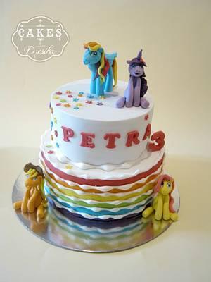 My little pony cake - Cake by Dzesikine figurice i torte
