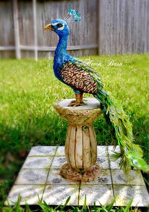 Royal Peacock  - Cake by Hemu basu