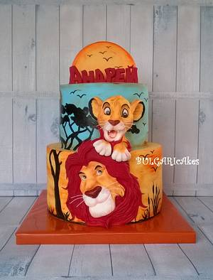 Lionheart...:) - Cake by BULGARIcAkes