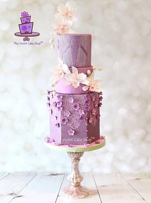 ABED MAHFOUZ Inspired Cake for Cake Central Magazine - Cake by Violet - The Violet Cake Shop™