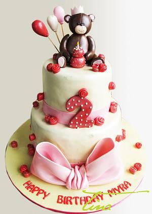 Teddy - Cake by Tina Jadav