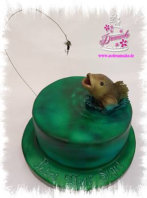 For an angler - Cake by AS Dreamcake