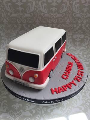 VW camper van cake - Cake by teresascakes