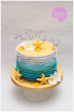 Mexico wedding cake - Cake by CakesWorth