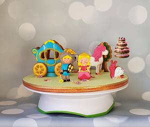 A Princess Tale - Cake by Pluympjescake