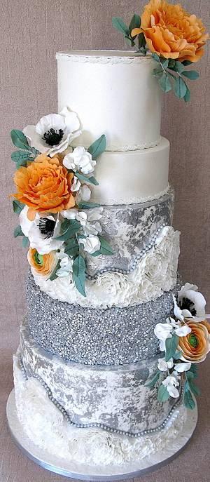 Shine Bright.. wedding cake - Cake by Delice