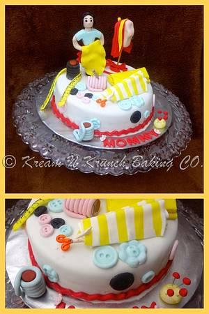 Happy Birthday Mommy - Cake by KnKBakingCo