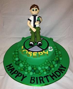 Ben 10 cake topper - Cake by Jade