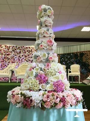 Floral Wedding Cake - Cake by Sweet Alchemy Wedding Cakes