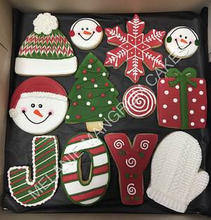 Christmas Cookies - Cake by Melanie Mangrum