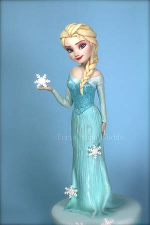 Frozen - Elsa- cake - Cake by ivana guddo