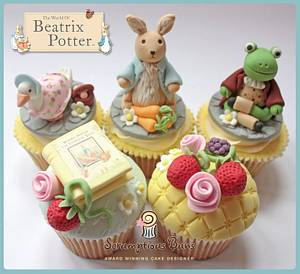 Beatrix Potter Collection - Cake by Scrumptious Buns