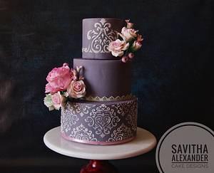 Elegance and Grace - Cake by Savitha Alexander