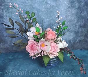 Summer flowers - Cake by Vesi