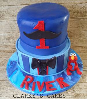 """🎂 HAPPY BIRTHDAY RIVER 🎂 - Cake by June (""""Clarky's Cakes"""")"""