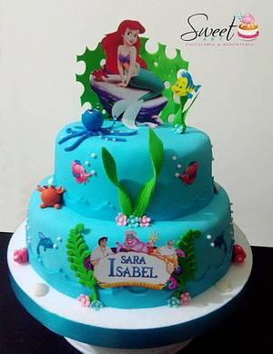 Torta de la Sirenita - Cake by Sweet Art Pastelería & repostería