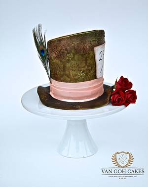 Mad Hatter's Hat - Cake by Van Goh Cakes