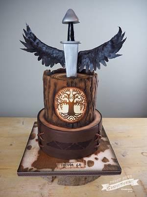 Viking Cake - Cake by PeggySuesCC
